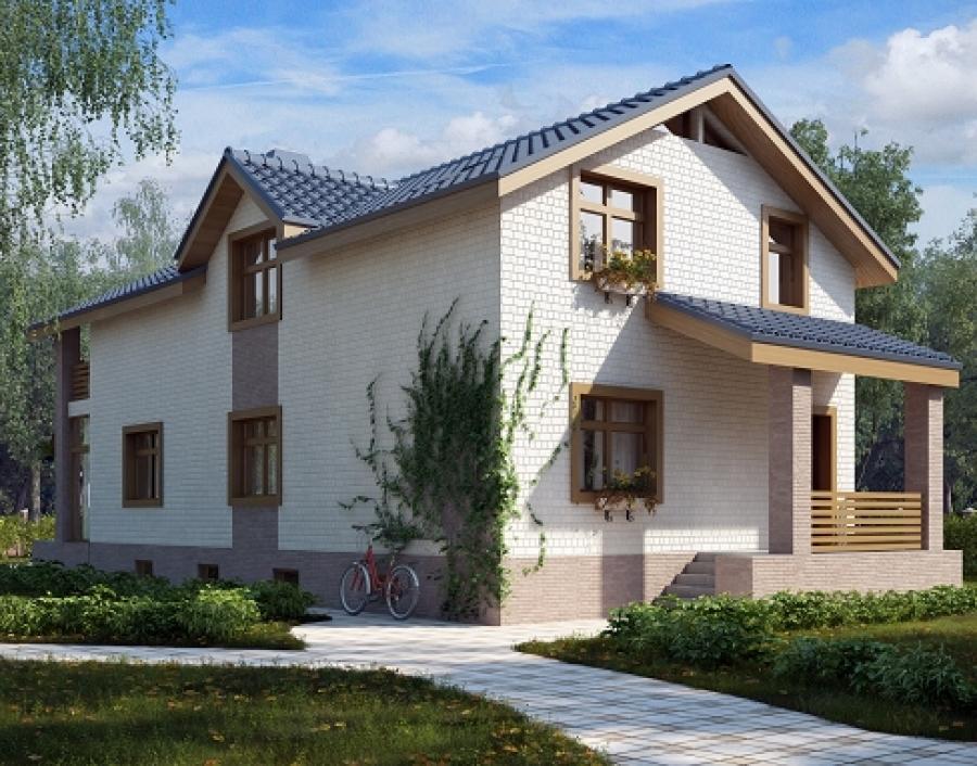 Проект дома из газобетона AS-2116